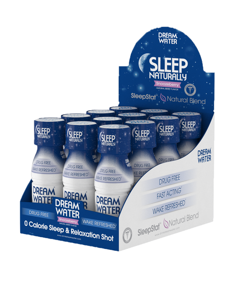 Dream Water Shot - SnoozeBerry - 12 Pack