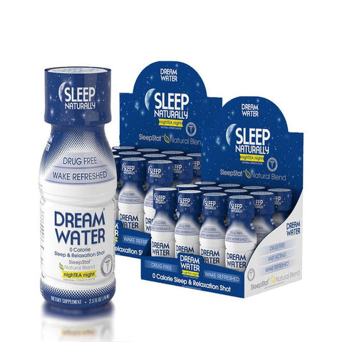 Dream Water Shot - NightTEA Night - 24 Pack