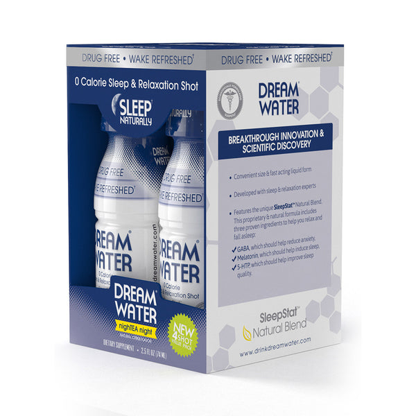 Dream Water Shot - Sleepy Citrus - 4 Pack