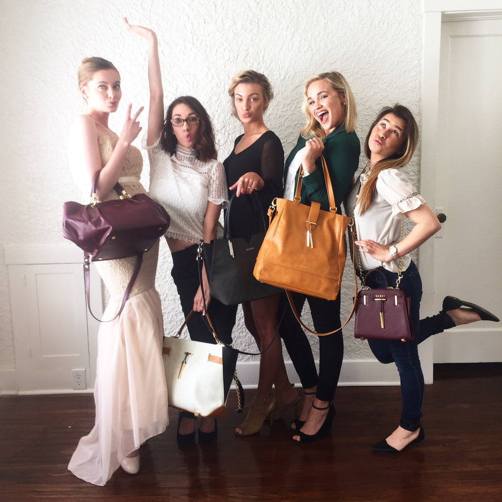 fun fashionable vegan bags for a good cause.