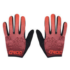 Red MTB Cycling Gloves