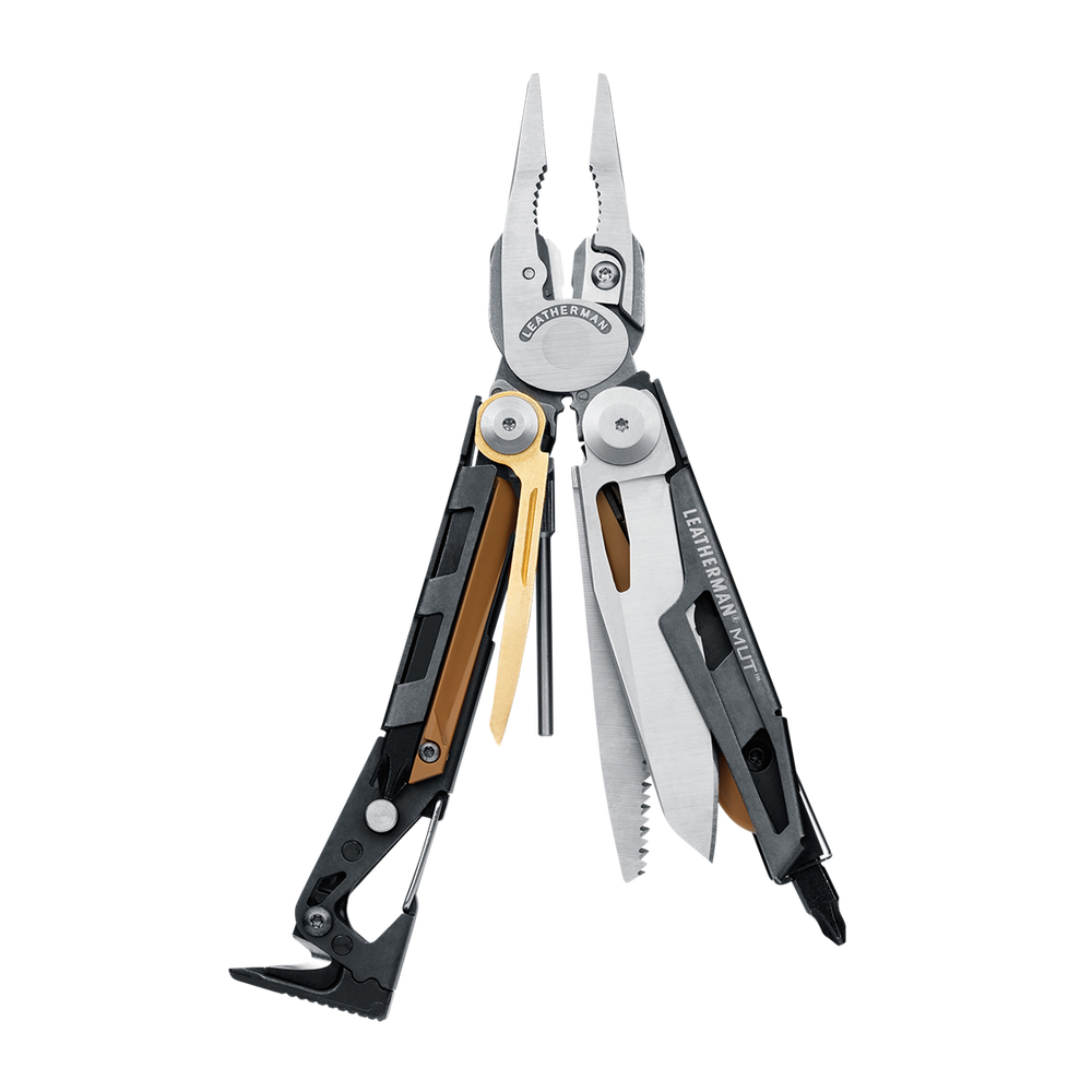 Leatherman MUT, Matte Stainless, with MOLLE Sheath - Neon Production Supply