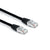 Hosa Cat 6 Cable 8P8C to Same, Black, 10' - CAT-610BK