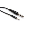 "Hosa 1/8"" 3.5mm TRSM to 1/4"" TRSM Cable, 10' - CMS-110 - Neon Production Supply"