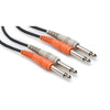"Hosa Patch Cable - Dual 1/4"" TSM to Dual 1/4"" TSM, 9' CPP-203 - Neon Production Supply"