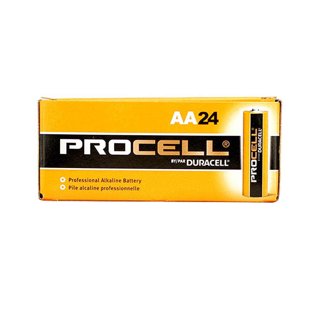 Duracell Procell AA Batteries, 24 Pack - Neon Production Supply
