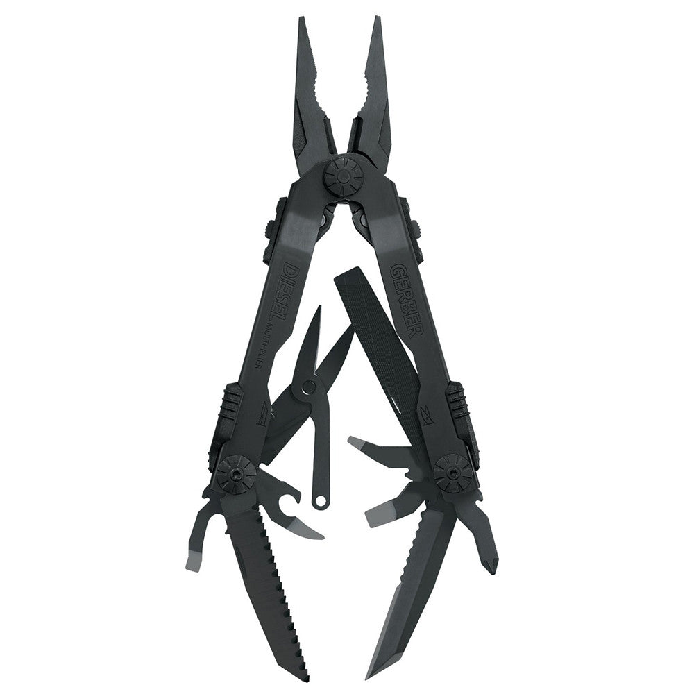 Gerber Diesel Multi Tool - Black G1545 22-41545 - Neon Production Supply