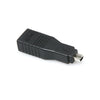 Hosa Firewire 6-Pin to 4-Pin Adaptor, Inline - GFW-517 - Neon Production Supply