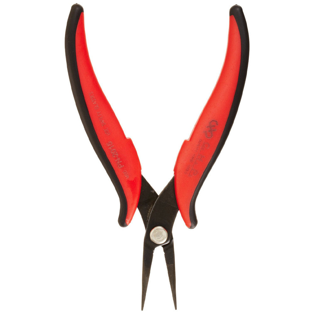 Hakko CHP Plier - Needle Nose, Serrated, Rounded - PN-2015 - Neon Production Supply
