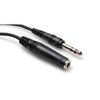 "Hosa Headphone Extension Cable, 1/4"" TRSF to 1/4"" TRSM, 25' - HPE-325 - Neon Production Supply"