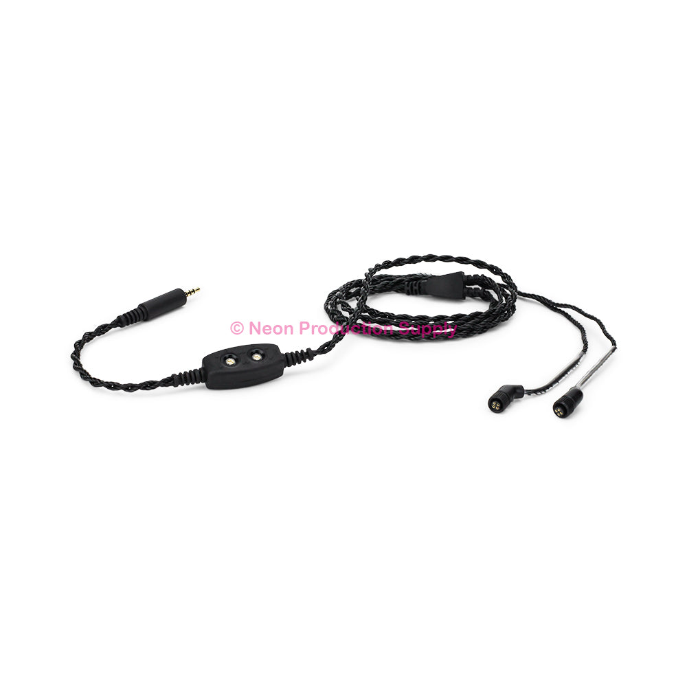"JH Audio 4-Pin 2.5mm Balanced Cable, 48"" Black"