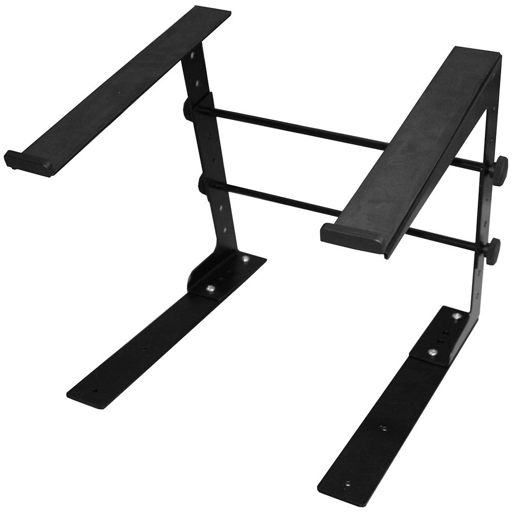 Ultimate Laptop Stand - Single Tier, Black - JS-LPT100 - Neon Production Supply