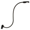 "Littlite Console Light - LED, 18"" Gooseneck, XLR4 Right Angle - 18XR-4-LED - Neon Production Supply"