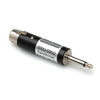 "Hosa Adaptor - 1/4"" TSM to XLR, Impedance Transformer, LOz to HIz, Inline - MIT-435 - Neon Production Supply"