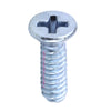 "NPS 4-40 x 3/8"" Machine Screw for Chassis Mount Connectors, Zinc - Neon Production Supply"