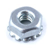 Keps Nut - 4-40, w/ lock washer, Zinc - Neon Production Supply
