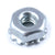 Keps Nut - 4-40, w/ lock washer, Zinc