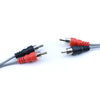 NPS 2x RCA M to 2x RCA M Cable, 3' - 2P-2P-3 - Neon Production Supply