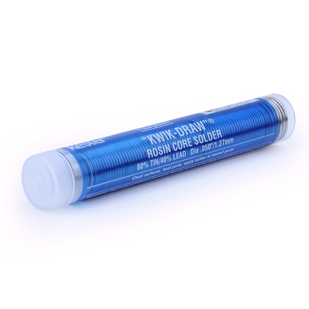 "Kester Pocket Pack Solder - .050"" x 1.3oz Tube, 60/40"