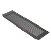 Penn Elcom 3RU Blank Perforated Rack Panel, Flanged - R1286/3UVK - Neon Production Supply