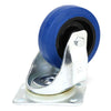 "Penn Elcom 4"" 440lb Swivel Caster, Blue, W0990V6 - Neon Production Supply"