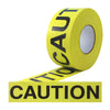 "Pro Caution Ribbon - 3"" x 1000', Black/Yellow"