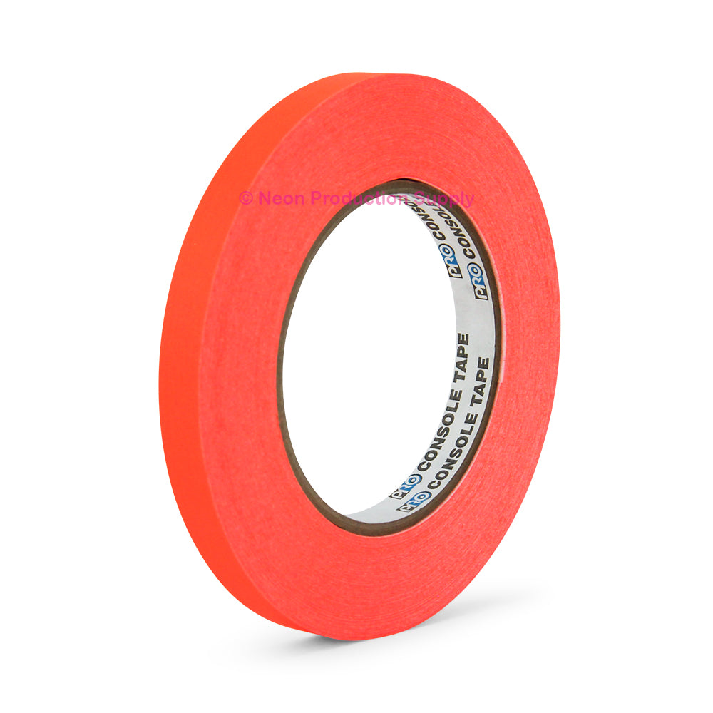 "Pro Console 1/2"" x 60yd, Fluorescent Orange"