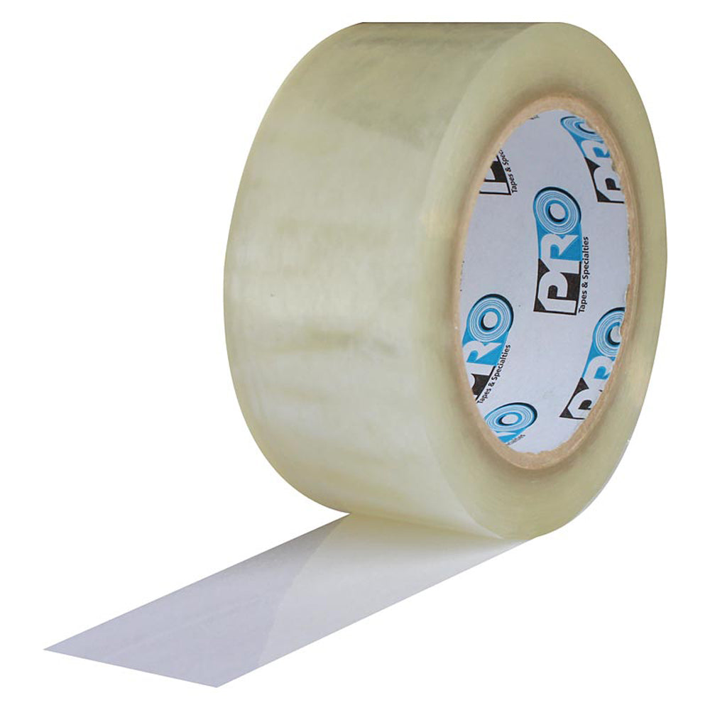 "Pro 919 Carton Sealing Tape - 2"" x 60yd, Clear - Neon Production Supply"