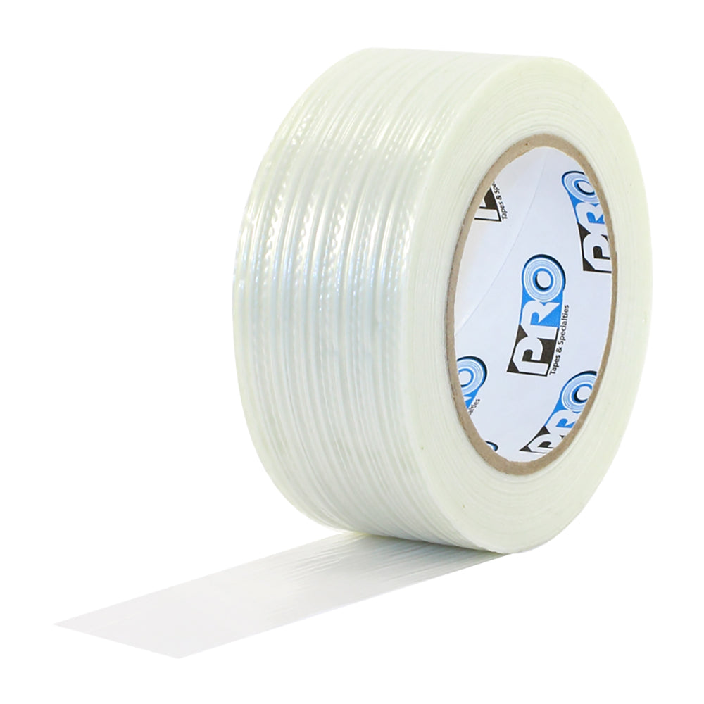 "Pro 180 Filament Strapping Tape - 1/2"" x 60yd - Neon Production Supply"