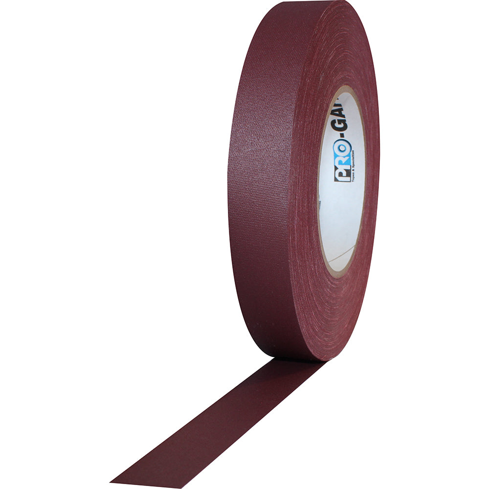 "Pro Gaff Tape - 1"" x 55yd, Burgundy - Neon Production Supply"