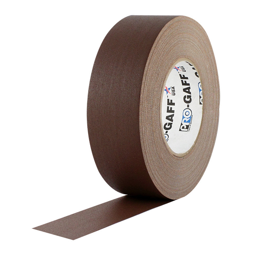 "Pro Gaff Tape - 2"" X 55yd, Brown"