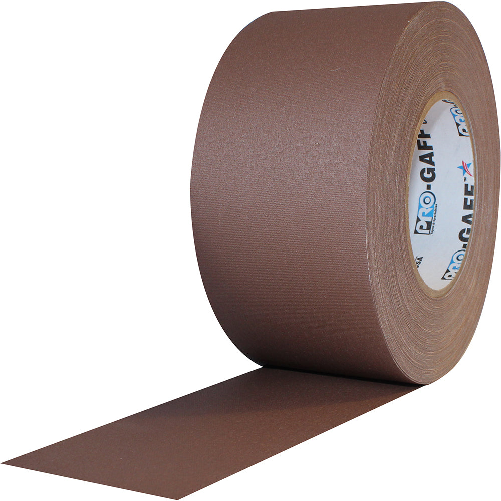 "Pro Gaff Tape - 3"" X 55yd, Brown"