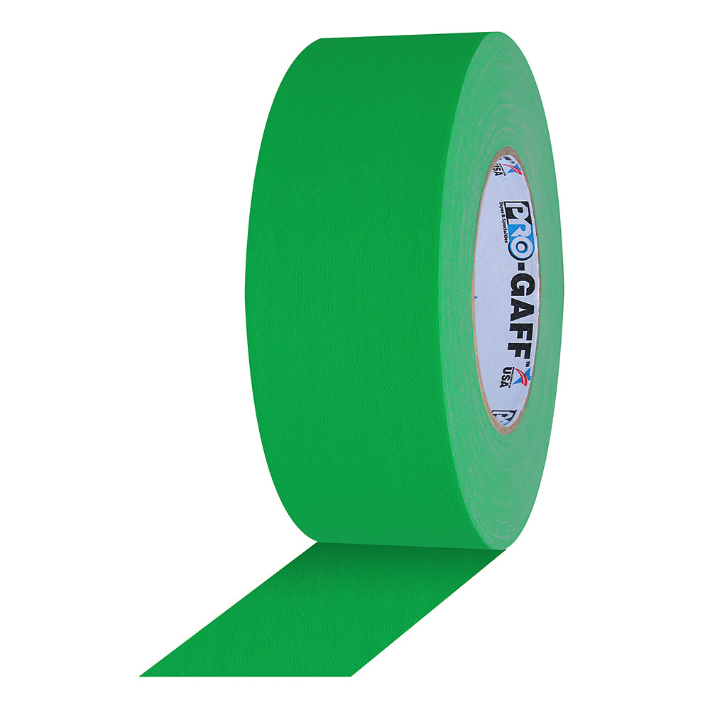 "Pro Gaff Tape - 3"" x 50yd, Chroma Green"