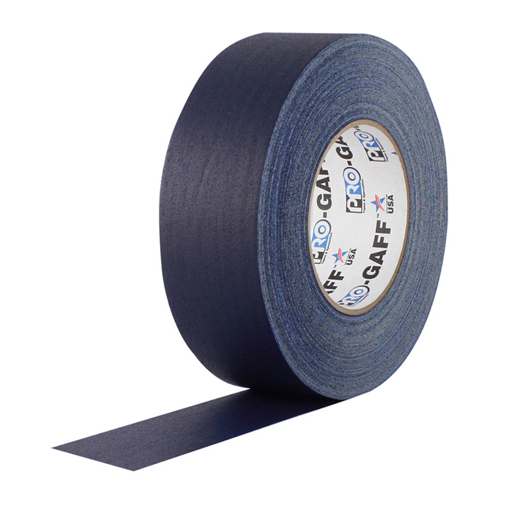 "Pro Gaff Tape - 2"" X 55yd, Dark Blue - Neon Production Supply"