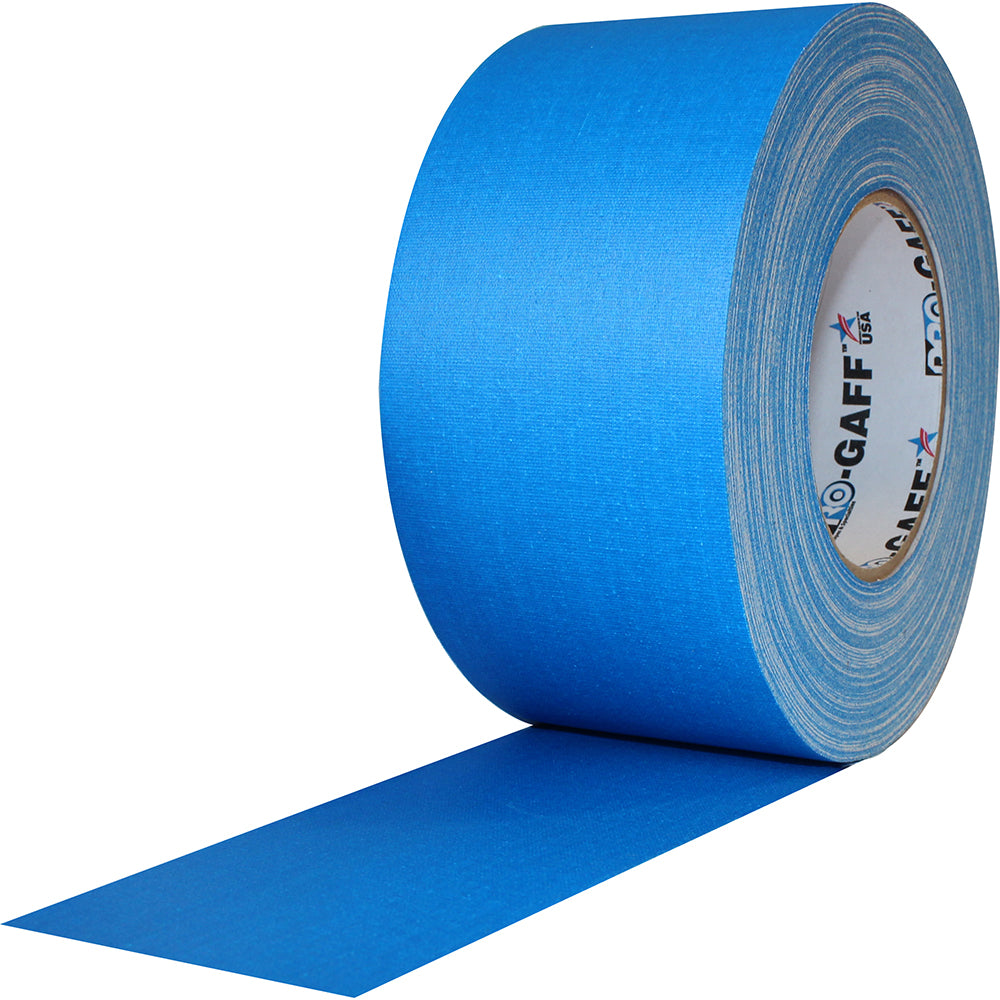 "Pro Gaff Tape - 3"" x 55yd, Electric Blue"