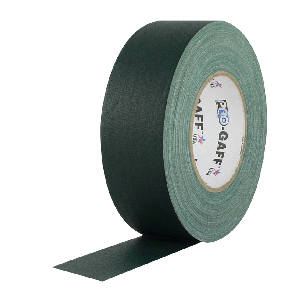 "Pro Gaff Tape - 2"" X 55yd, Green - Neon Production Supply"
