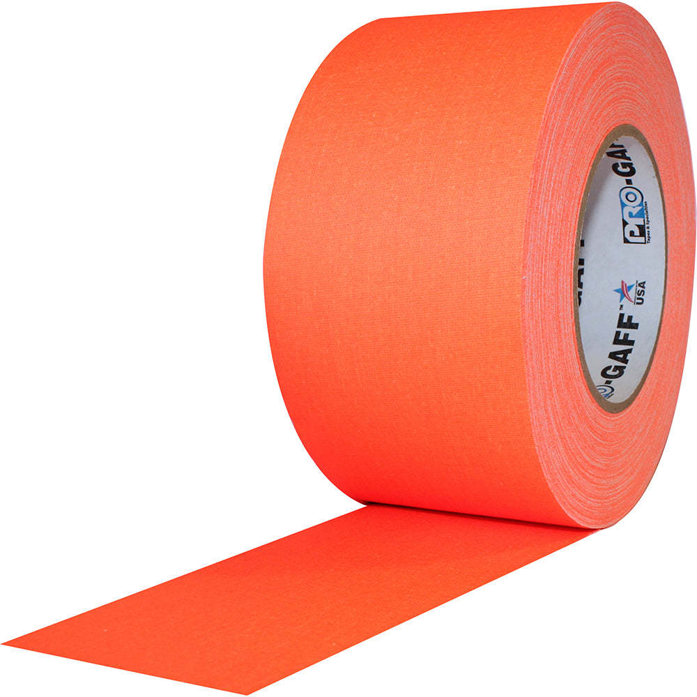"Pro Gaff Tape - 3"" x 50yd, Neon Orange"