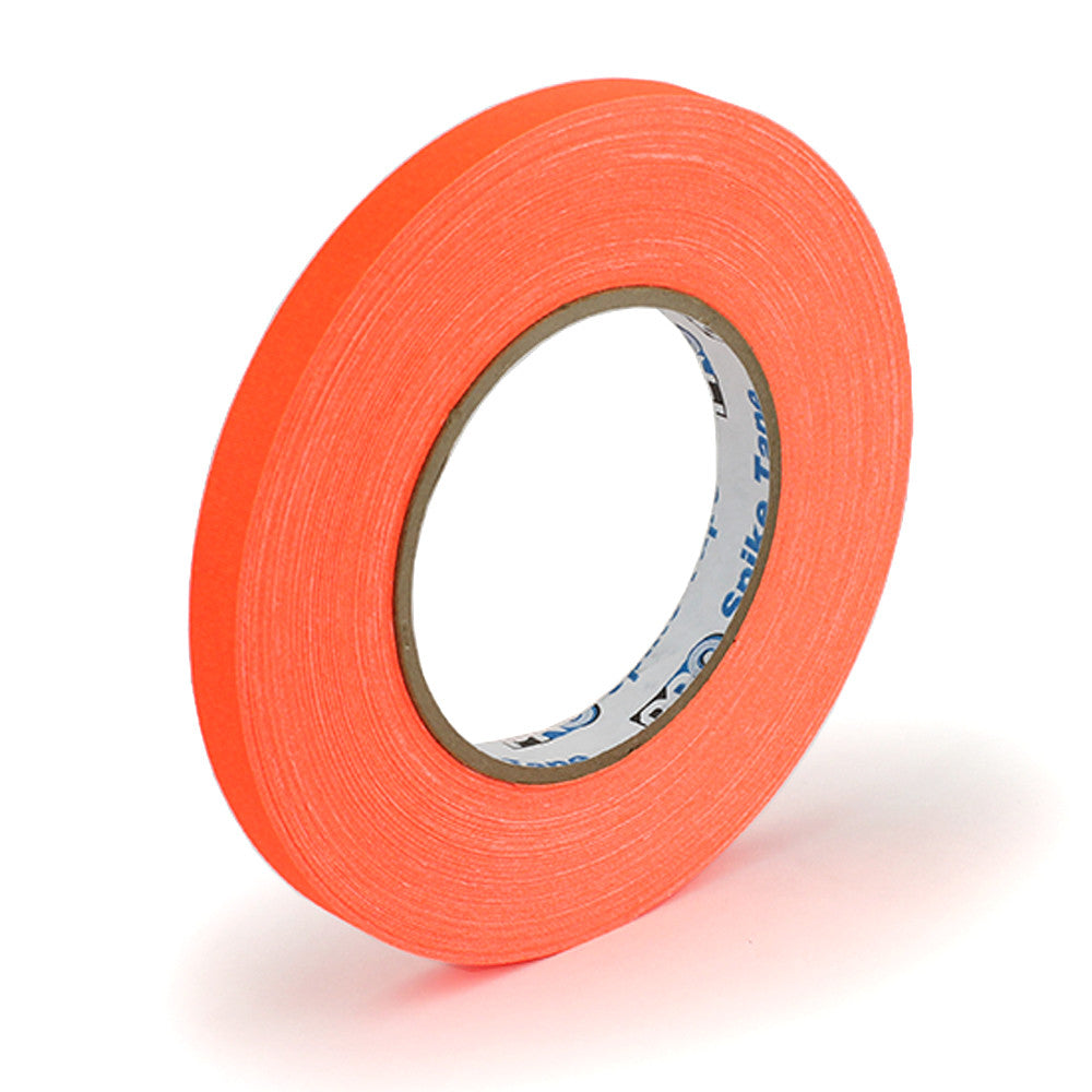 "Pro Gaff Spike Tape - 1/2"" X 45yd, Neon Orange - Neon Production Supply"