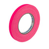 "Pro Gaff Spike Tape - 1/2"" X 45yd, Neon Pink - Neon Production Supply"