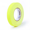 "Pro Gaff Tape - 1"" X 50yd, Neon Yellow - Neon Production Supply"