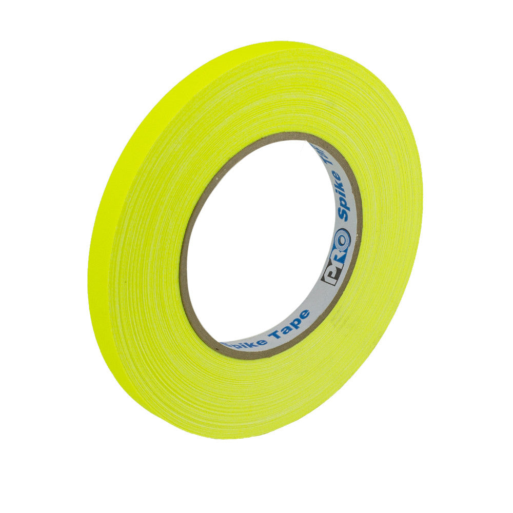 "Pro Gaff Spike Tape - 1/2"" X 45yd, Neon Yellow"