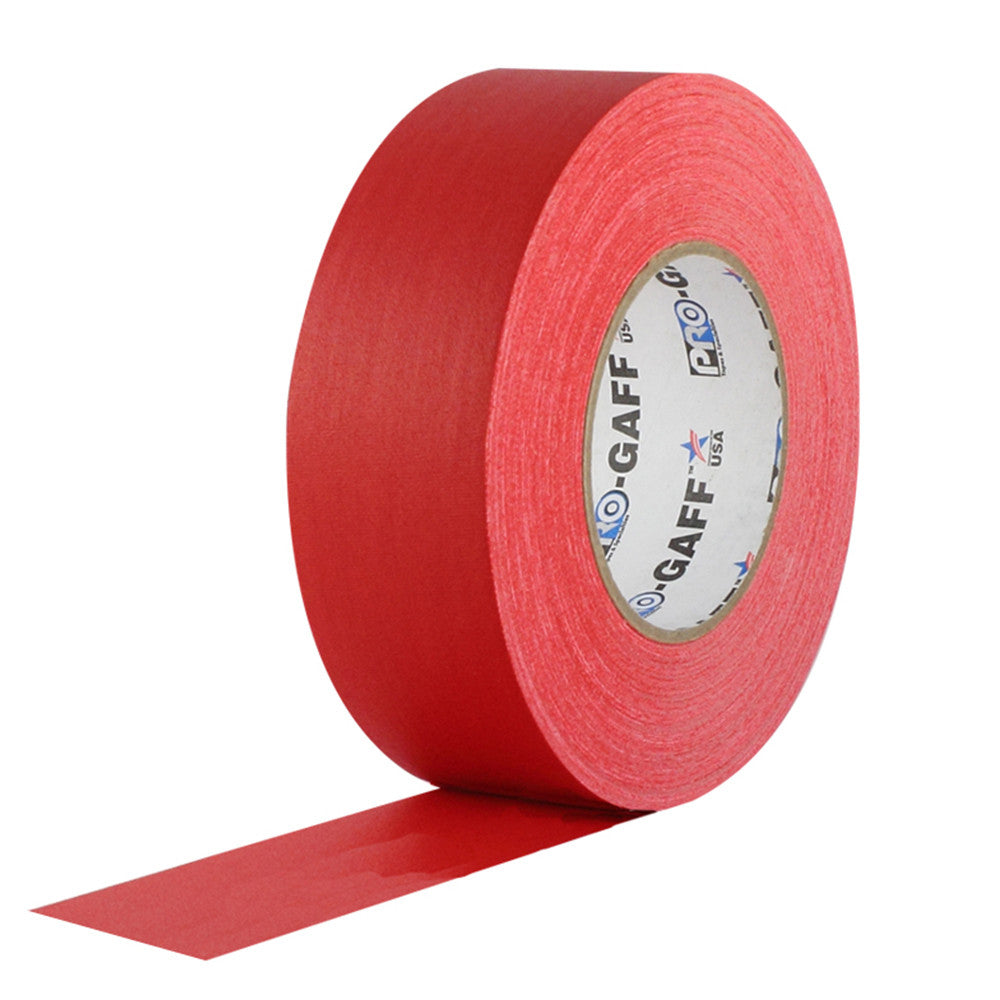 "Pro Gaff Tape - 2"" X 55yd, Red"