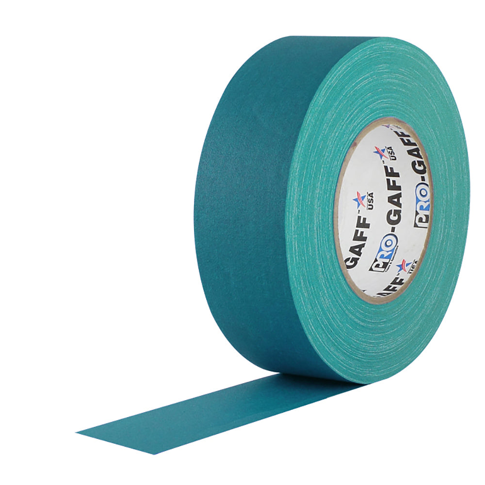 "Pro Gaff Tape - 2"" x 55yd, Teal"