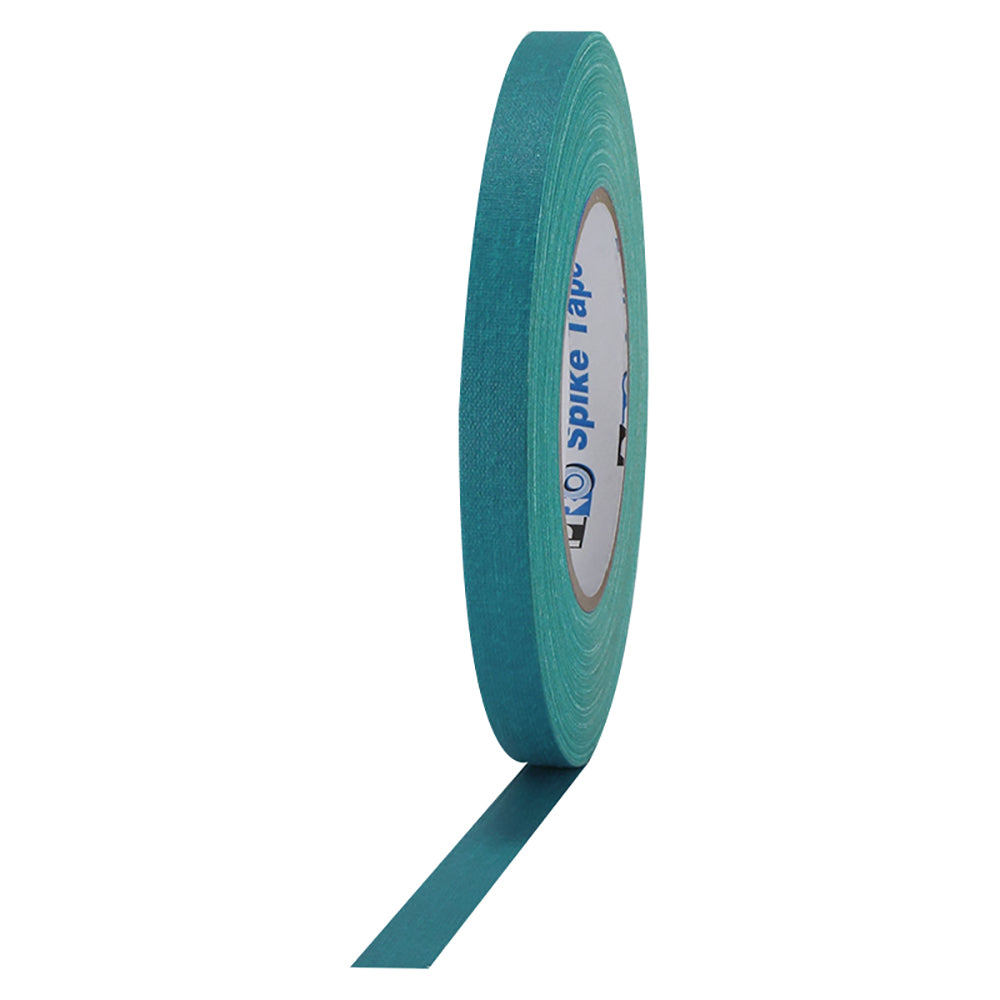 "Pro Gaff Spike Tape - 1/2"" x 45yd, Teal - Neon Production Supply"
