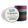 "Pro Gaff Spike Stacks - Pocket Size 1/2"" x 6yd, 5 Dark Colors"