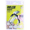 "Rip Tie MINI - 1/4"" x 3.5"", 7 Pack, Black - Q-35-007-BK - Neon Production Supply"