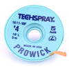 Techspray Pro Wick Blue #4 Braid, 10' - 1811-10F - Neon Production Supply