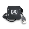 Hosa USB 2.0 Hub - 4 Port Bus Powered - USH-204 - Neon Production Supply