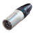 Neutrik 5 Pin Inline Male XLR Connector, Nickel/Silver - NC5MXX