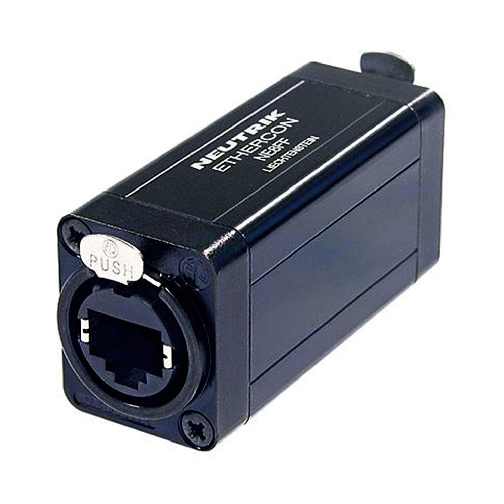 Neutrik etherCON Coupler - NE8FF - Neon Production Supply